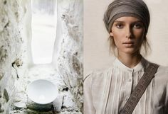 Lidewij Edelkoort: Post Fossil Fashion in Earth Matters! (beautiful)