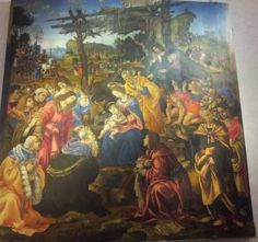 The Adoration of the Magi by Fillipino Lippi Painting, Education, Art, Painting Art, Paintings, Kunst, Paint, Draw, Educational Illustrations