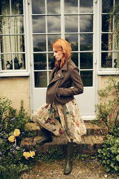 Lena Hoschek 'The Brits' Autumn/Winter 2016