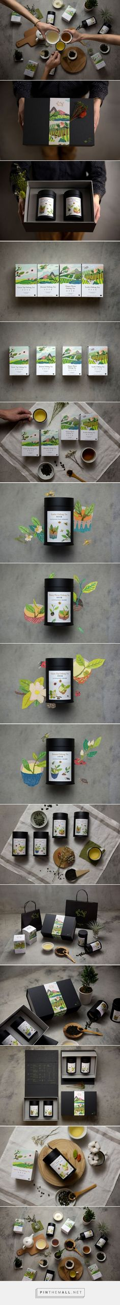 FongCha Tea packaging designed by Nio Ni (Taiwan) - http://www.packagingoftheworld.com/2016/01/fongcha-tea.html
