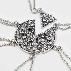 Six necklaces in one! Get a slice for all your besties.