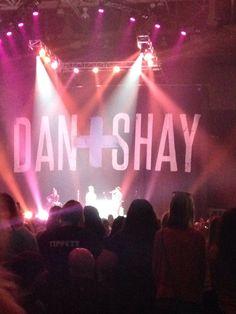 Dan+ shay, danille Bradbury and hunter hayes concert. yupp . i was there.