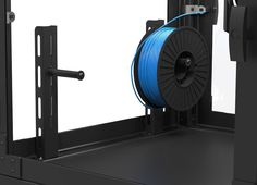 Desktop600 final design - Spool Holders  3DPrintClean filtration systems enable 3D printing in PLA ABS HIPS and other media without external ventilation. In addition to the health benefits enclosed printing environments reduce warping curling cracking and noise.  www.3DPrintClean.com  #3Dprinters #3dprintable #3DPrinter#3dPrinting #3dprinted #3dprint #3dp#3dhubs #3ders #maker #3DPrinterNews#prusa #lulzbot #printrbot #zortrax#makerbot #makergear #flashforge#ultimaker #witbox #lulzbot…