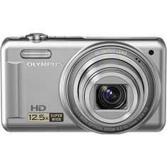 """Olympus VR-320  14 MP Digital Camera with 12.5x Optical Zoom and 3"""" LCD (Silver) by Olympus. $104.99. 14 MP, Super-Wide 12.5x Zoom, 3.0"""" LCD Monitor, SDHC Compatible, All-Metal Body, 720p HD Movie, Magic Filter, Intelligent Auto, Dual Image Stabilization, AF Tracking. Save 41%!"""