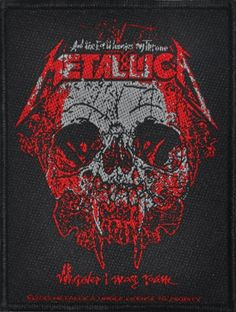 #Patch METALLICA - Wherever I May Roam #metallica www.rockagogo.com