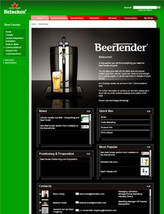 The Heineken Brandportal has won gold for the Best use of digital to an internal audience (Best intranet), thanks to SmallWorlders at the Digital Impact Awards 2011