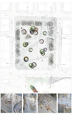 Eleftherias Square, Thessaloniki, GR | draftworks* 2013 Plan