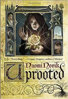Uprooted - Naomi Novik: Just finished this one, and I loved it! Such a wonderful dark fairy tale.