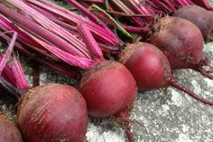 OK beets aren't really products, but in addition to roasting and juicing, I also use them as cosmetics.