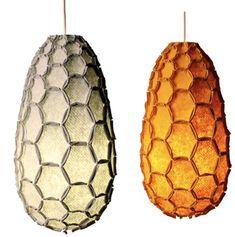 Sweet Honeycomb Lamp Shades by DesignTree