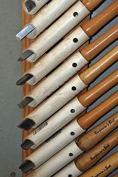 Versatile chisel storage