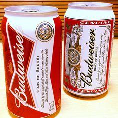 Budweiser New & Old Package (Anheuser-Busch)
