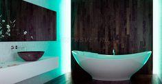 Cветодиодная подсветка  ванной комнаты.