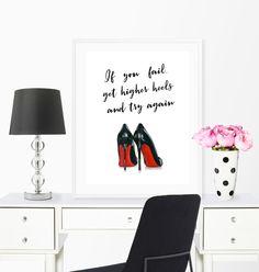 Vanity Room, Vanity Decor, Fashion Wall Art, Fashion Prints, Glam Closet, Chanel Wall Art, Home Office Decor, Office Decorations, Home Decor