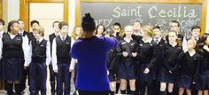 Art in music at Saint Cecilia School