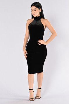 About A Girl Dress - Black