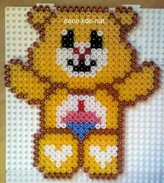 Care Bears hama perler by DECO.KDO.NAT