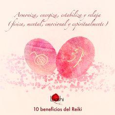 Conoce los beneficios del Reiki. Nº2 Armoniza, energiza, estabiliza y relaja (física, mental, emocional y espiritualmente)
