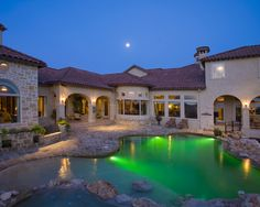 Swimming pools by Stadler Custom Homes