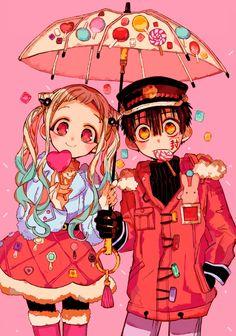 Yashiro and Hanako Anime Chibi, Manga Anime, Fanarts Anime, Anime Kawaii, Manga Art, Anime Art, Geek Wallpaper, Cute Anime Wallpaper, Otaku Anime