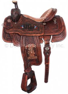 Used 14 Quot Carl Ammerman Saddlery Trophy Roping Saddle W