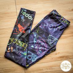 Legging Space Neon  #legging #space #neon #wetlegging