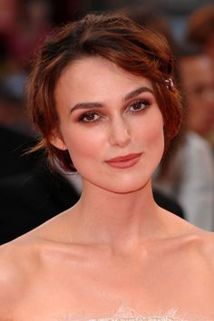 Keira Knightley Hair and Make-Up (Glamour.com UK)