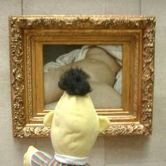 Visiting Gustave Courbet's Origin of the World