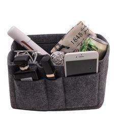 Multi-Pocket Handbag Organizer – Purses And Handbags Diy Cheap Purses, Large Purses, Cheap Handbags, Cute Purses, Luxury Handbags, Purses And Handbags, Fabric Handbags, Unique Purses, Canvas Handbags