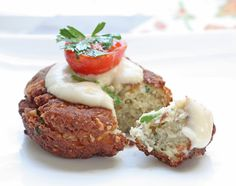 Low Carb Falafel with Tahini Sauce (Gluten Free) | I Breathe I'm Hungry