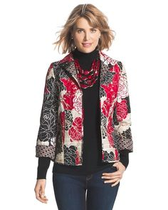 Multi-Print Reversible Jacket