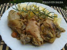 Una mariposa en mi cocina: Pollo en salsa