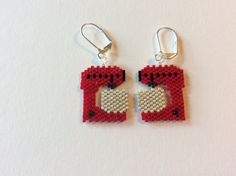 Beaded Earrings Mixer Stand Mixer Ready Made by Bead4Fun on Etsy                                                                                                                                                                                 More