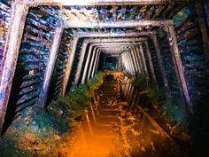 Abandoned coal mind, southern coal field Pennsylvania