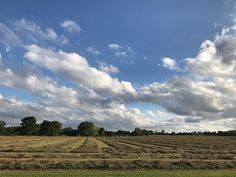 A beautiful day to cut hay. Beautiful Day, Instagram Images, Clouds, Outdoor, Outdoors, Outdoor Games, Outdoor Living, Cloud