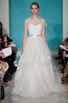 Reem Acra Spring 2013 Bridal 45