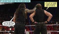 credit JenJ@forever_ambrose Wrestling Memes, Watch Wrestling, Wwe Funny, Dean Ambrose, Professional Wrestling, Roman Reigns, Wwe Superstars, Man Alive, Movies Showing