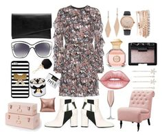 The Trunk Show by pulseofthematter on Polyvore featuring polyvore fashion style Valentino Pollini Witchery Jessica Carlyle Tiffany & Co. Furla Cara NARS Cosmetics Lime Crime Tory Burch Home Decorators Collection LSA International Lindt clothing