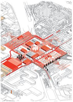 AXO_URB_Paris' CBD La Défense Strategic Masterplan | Masterplan/Strategic Plan | Projects | AWP