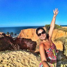 Lembrança de um dia que quero de novo  Quando?! #tbt #ceara #morrobranco #praia #beach #beachporn #playa #plage #ferias #paradise #vacation #brazil #love #happy #sun #landscape #tour #saudades #nordeste #trip #traveling #travel #instatrip #instatravel #trippics by jaq_cury