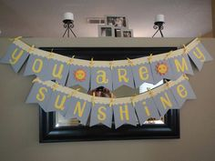 "Sara's ""You Are My Sunshine"" Baby Shower 