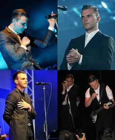Hurts (band) My daughter met them last summer in Finland. She won VIP tickets to the Weekend Festival, Espoo. Theo Hutchcraft, Hurts Band, It Hurts, Adam Anderson, Weekend Festival, Music Genius, Vip Tickets, Sing To Me, New Wave