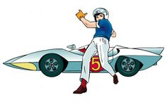 Speed Racer premiered in the States in 1967. Don't remember it, but include the series here because I must have seen at least a few episodes. As a teenager I felt cartoons were beneath me. With Disney in decline and Saturday morning TV a hotbed of mediocrity, there wasn't a lot to like.