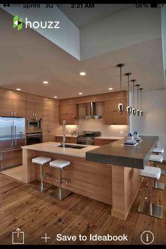 En la Cocina es la stufa, el fregadero y el frigorifico.