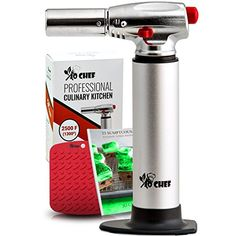 Jo Chef Professional Culinary Torch – Aluminum Refillable Crème Brulee Blow Torch – With Adjustable Flame – Perfect for Cooking, Baking, Crafts, BBQs – FREE Heat Resistant Place Mat + Recipe eBook #Chef #Professional #Culinary #Torch #Aluminum #Refillable #Crème #Brulee #Blow #With #Adjustable #Flame #Perfect #Cooking, #Baking, #Crafts, #BBQs #FREE #Heat #Resistant #Place #Recipe #eBook