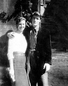 Sylvia Plath and Ted Hughes...The Doomed, Brilliant Writer & Poet and Her Literary Husband...Plath's Suicide Ended This Union...So Talented, Such A Short, Tortured Life...