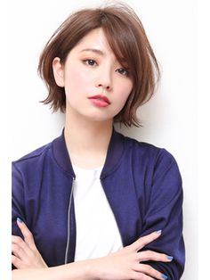 Top 15 Side Part Bob Haircuts Trending in 2019 - Style My Hairs Medium Hair Cuts, Short Hair Cuts, Shot Hair Styles, Long Hair Styles, Asian Short Hair, Asian Haircut Short, Trending Haircuts, Cute Hairstyles For Short Hair, Hair Today