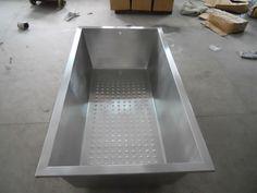 Superieur Stainless Steel Japanese Bathtub With 3 Sided Skirt. Made By Diamond Spas  In Colorado...hmmmm | Spas  Tubs  Baths  Showers | Pinterest | Bathtubs, ...