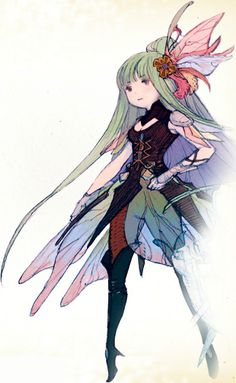 """Bravely Default"" by 吉田 明彦 Akihiko Yoshida*  • Blog/Info 