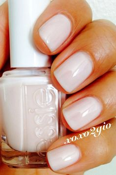 I am officially in love and obsessed with essie ballet slippers. SO SO GORGEOUS I am officially in love and obsessed with essie ballet slippers. SO SO GORGEOUS Love Nails, How To Do Nails, Fun Nails, Pretty Nails, Gorgeous Nails, Essie Nail Polish, Nail Polish Colors, Essie Colors, Pink Polish